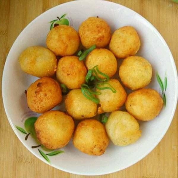 香酥土豆肉丸