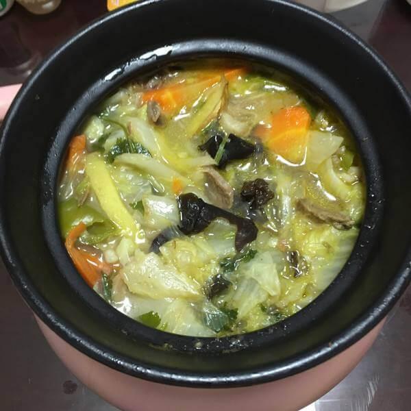 羊肉白菜煲(简单版)