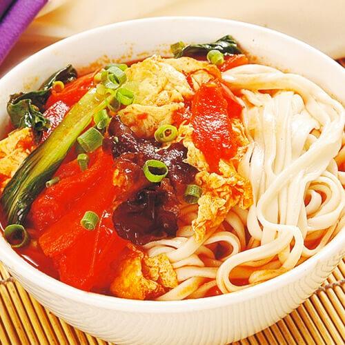 【DIY美食】鸡蛋番茄拌面