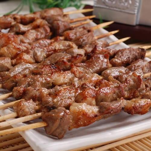 好吃的羊肉串的烤法