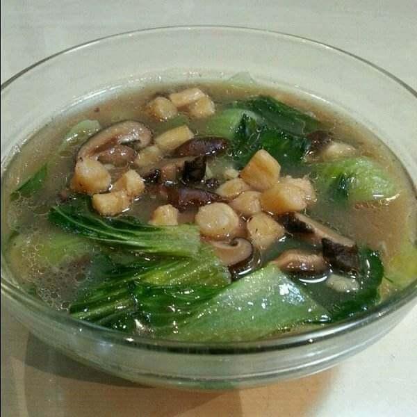 干贝香菇筒骨汤