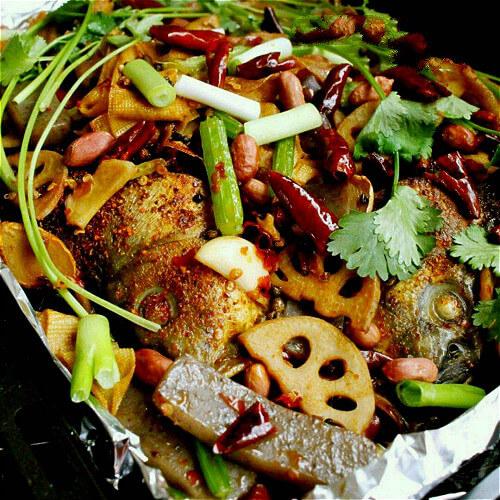 魔芋香烤鱼