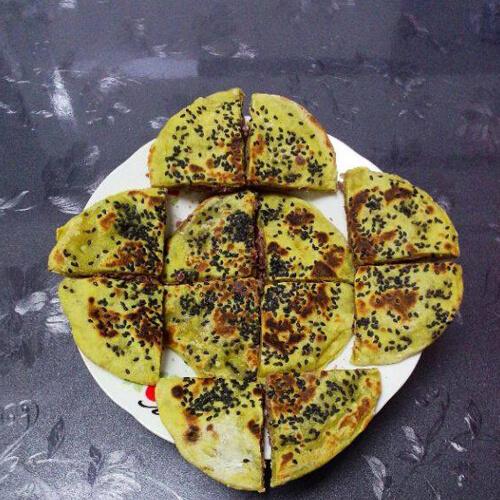 薯香红豆饼