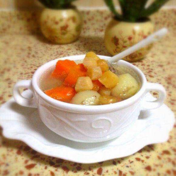 干贝胡萝卜汤