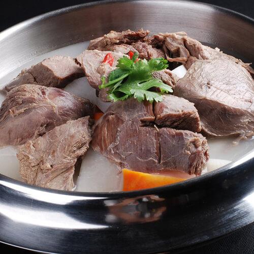 白菜粉丝炖羊肉