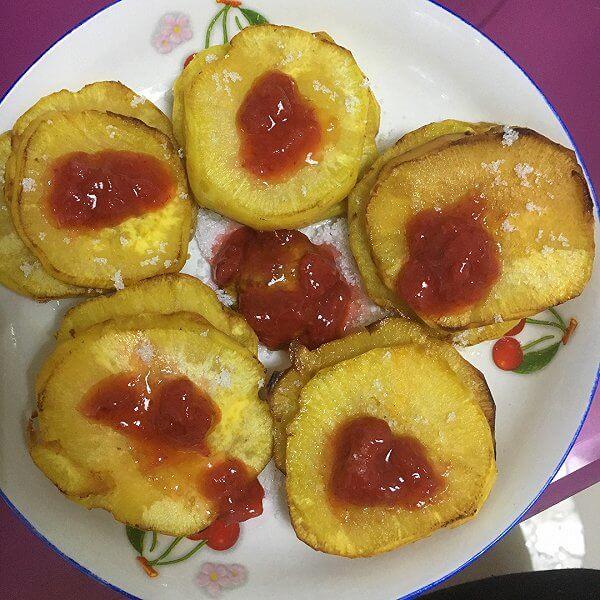 易做的草莓山芋