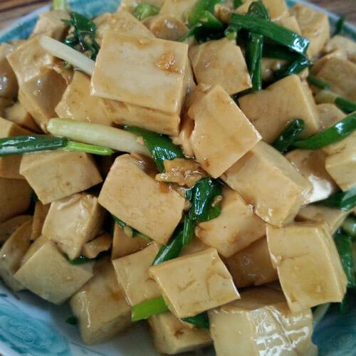 简易版-玉米炒豆腐