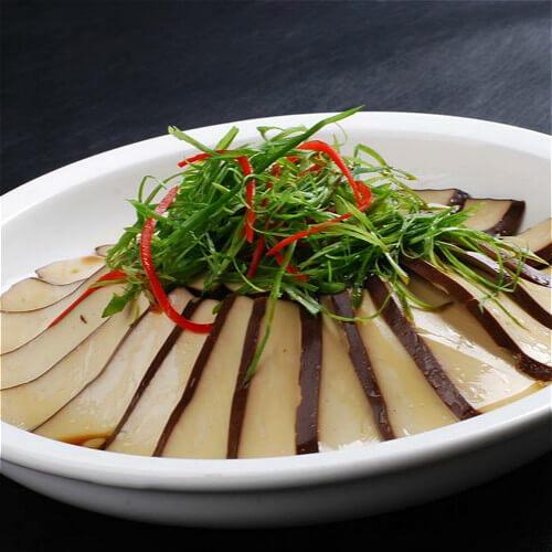 酱油白灼豆腐