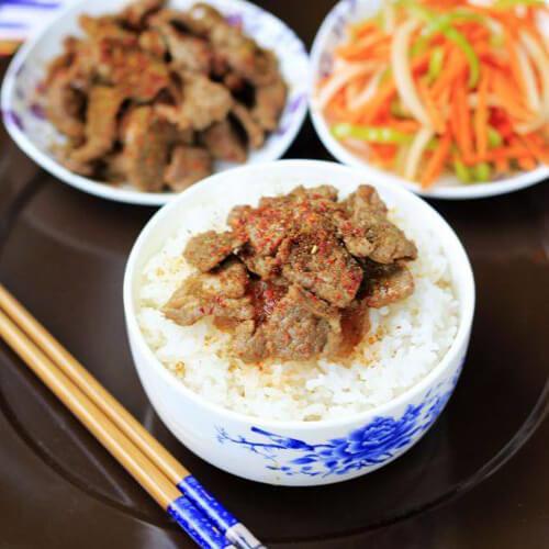 家常日式烤肉饭