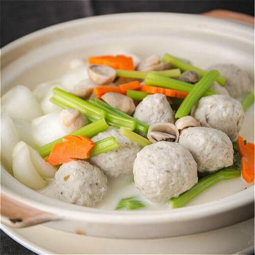 鱼丸烧白菜