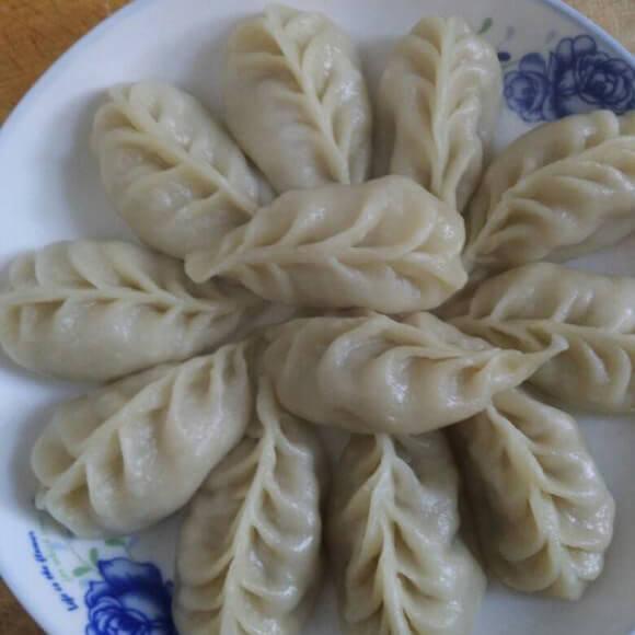 自制麦穗蒸饺