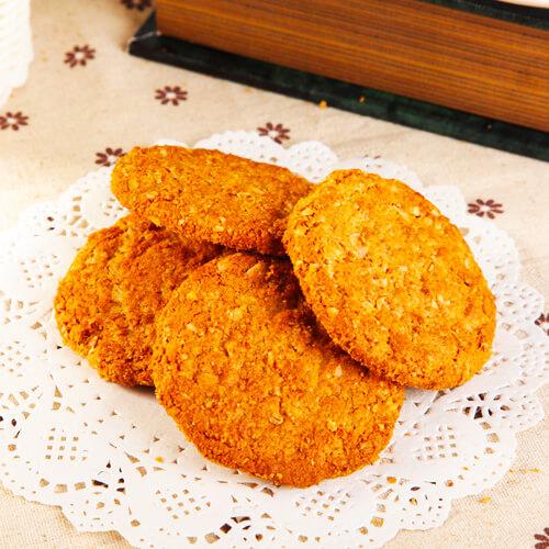 椰香葡萄燕麦饼干