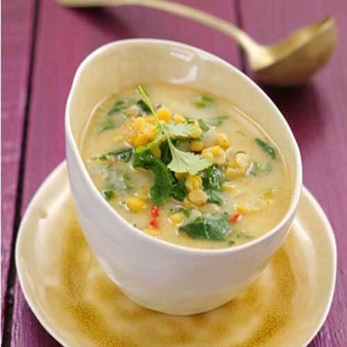 冻豆腐豌豆汤