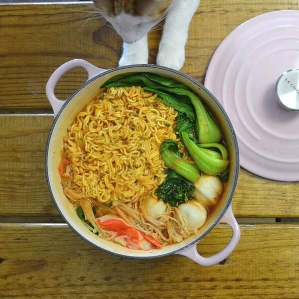 鱼丸蔬菜面