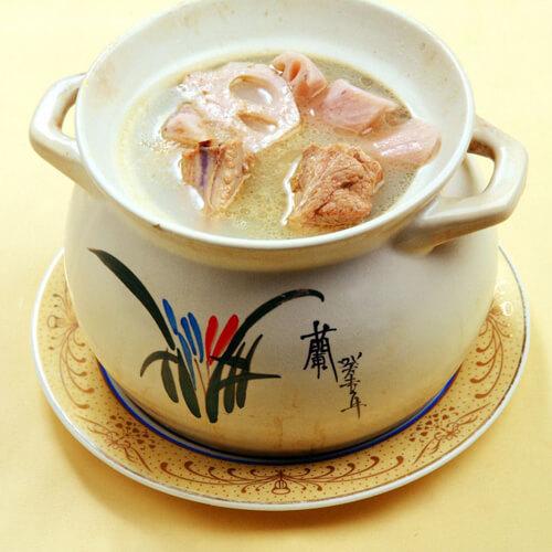#回忆#砂锅煨排骨藕汤
