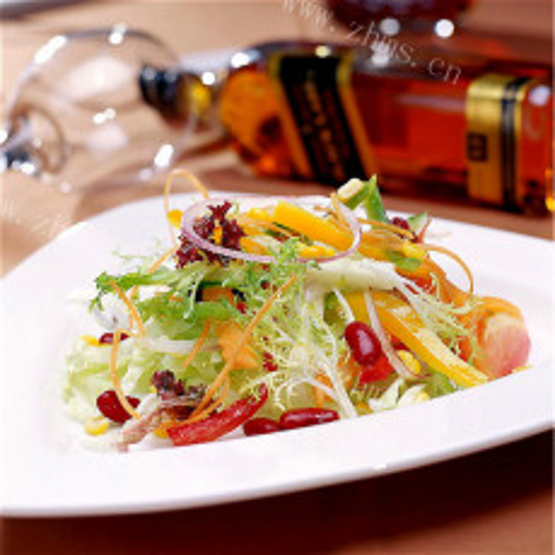 【家有大厨】沙拉汁凉拌黄瓜卷