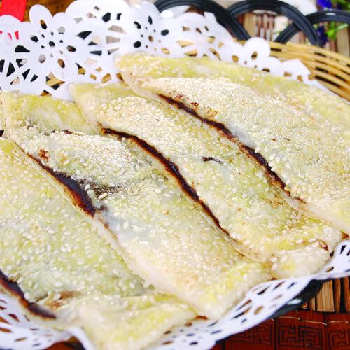 美美厨房之芝麻豆浆糯米饼