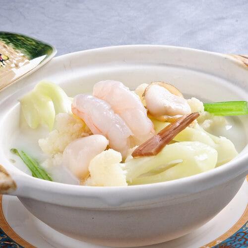 鲅鱼菜花汤