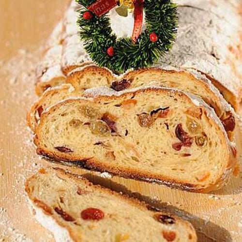 圣诞杂果面包