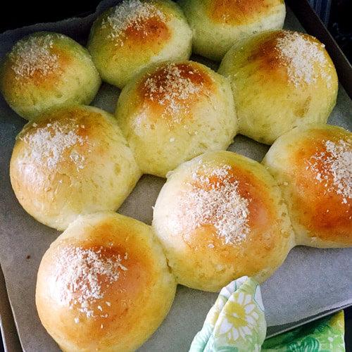 最爱的泡浆椰蓉小面包