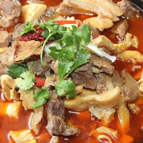 牛肚炖土豆红萝卜