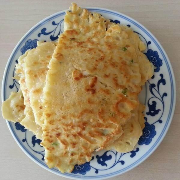 大米饭鸡蛋饼