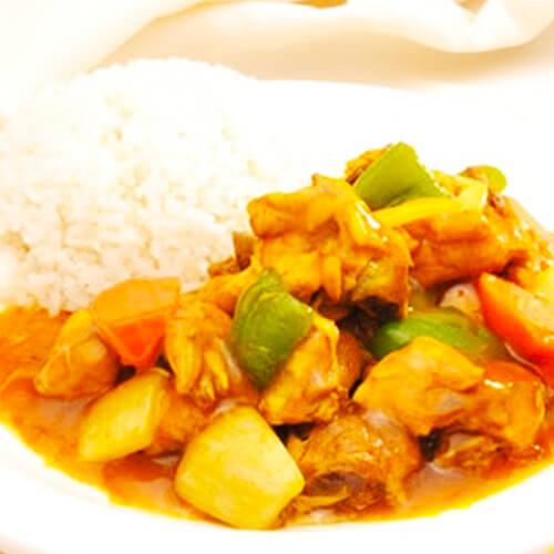 味道不错的马来咖喱鸡