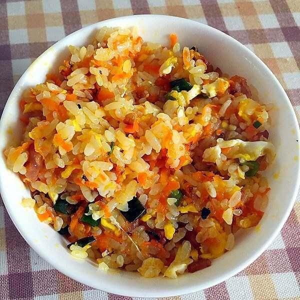 芥菜胡萝卜饭
