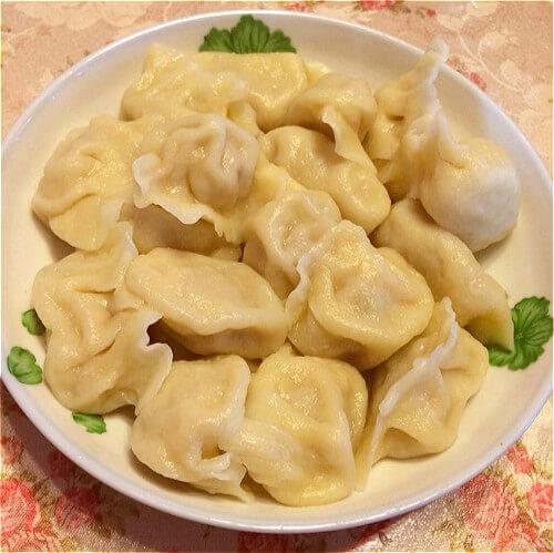 让人怀念的榨菜豆腐韭菜水饺