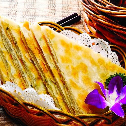 葱花羊油饼