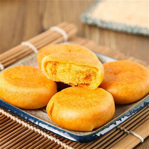 黄瓜肉松酥饼