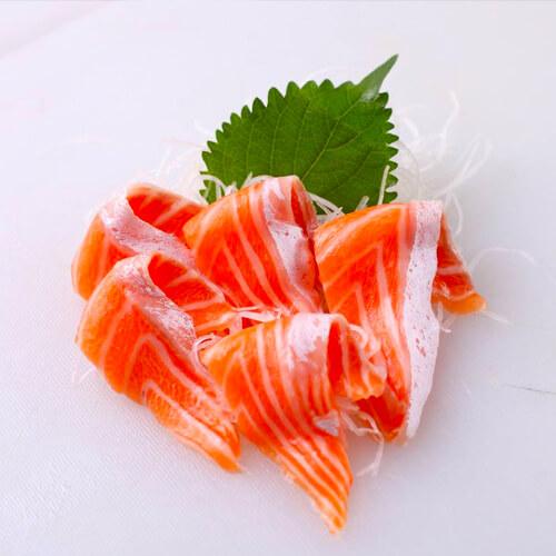 味道不错的苦瓜三文鱼腩