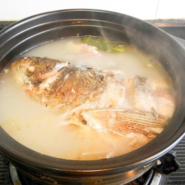 鱼头粉皮砂锅仔