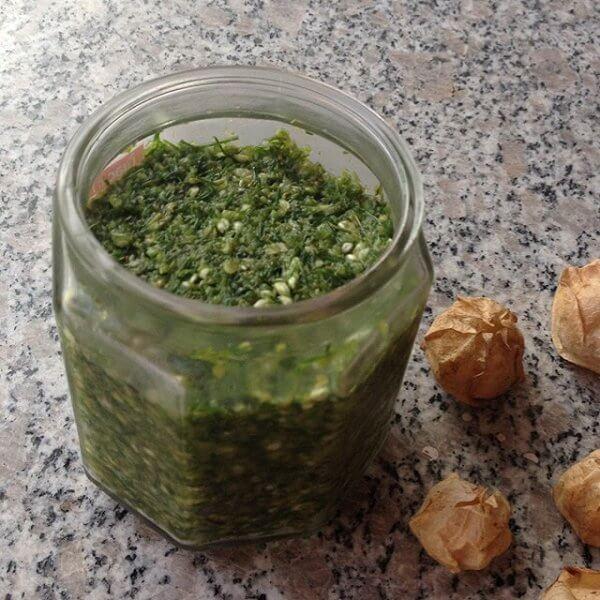 美味的韭菜花酱的做法