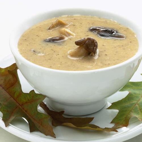莲藕蘑菇汤