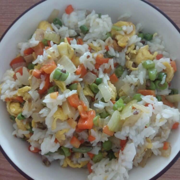 简单素炒米饭