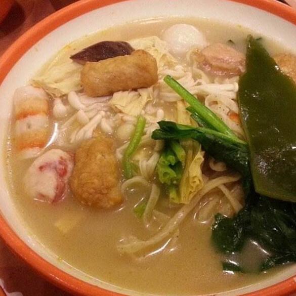 乌贼鱼菠菜汤