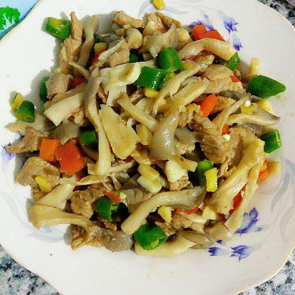 菌菇小炒肉