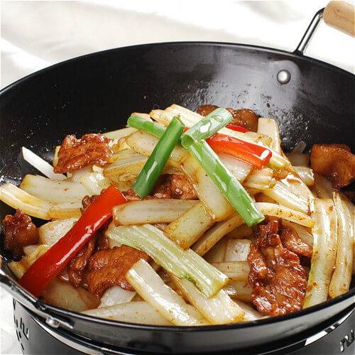 干锅白菜香菇