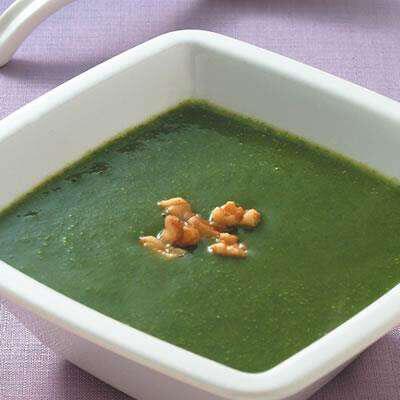 菠菜西芹马蹄浓汤