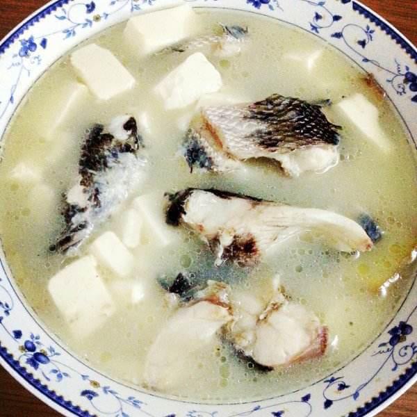 豆腐虾仁鱼汤