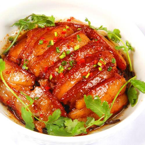 冻豆腐冬菜烧肉