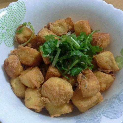 【懒人版】油炸豆腐扣
