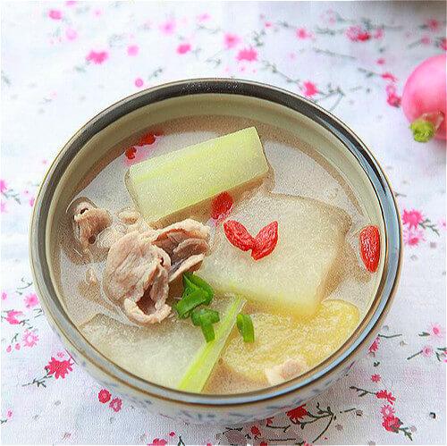 超简单羊肉冬瓜汤的做法