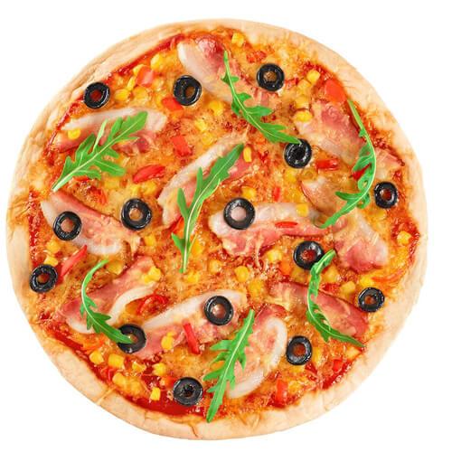 家庭版豆渣披萨