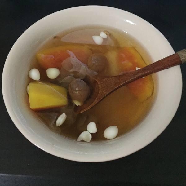 菰米木瓜糖水