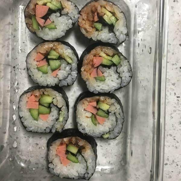 鲍鱼寿司(原创)