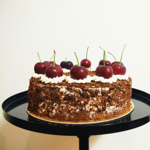 【DIY】奶油巧克力海绵蛋糕