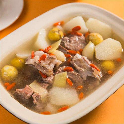 羊排蛤蜊山药汤