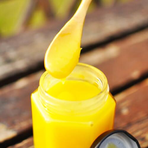 清爽柠檬凝乳